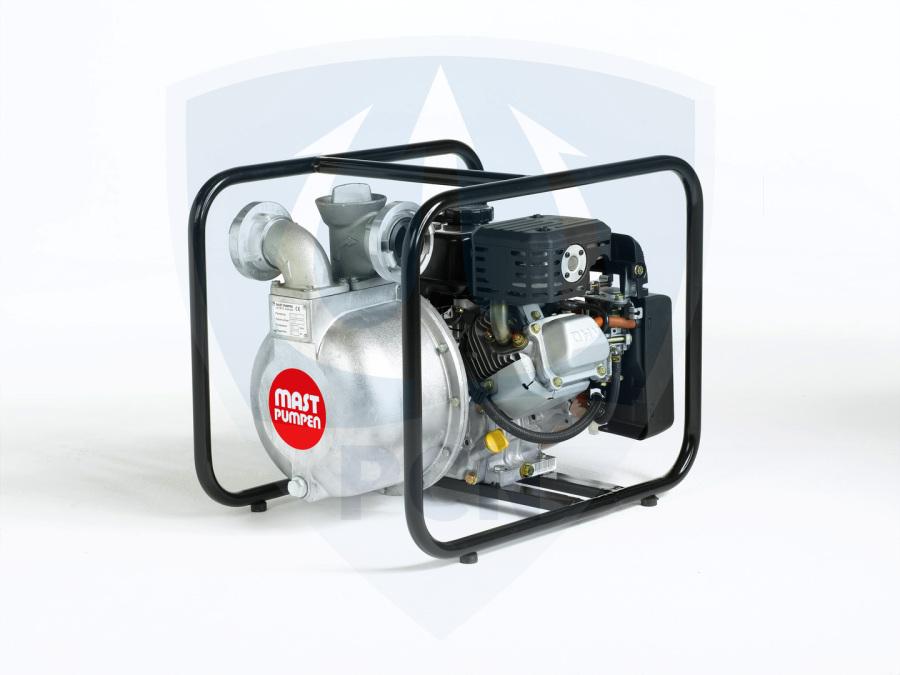 Mast Allzweckpumpe NP 4 B, 4-Takt-Benzinmotor 3 kW, C-Saug- und Druckanschluss,Qmax. 500Liter/min.,
