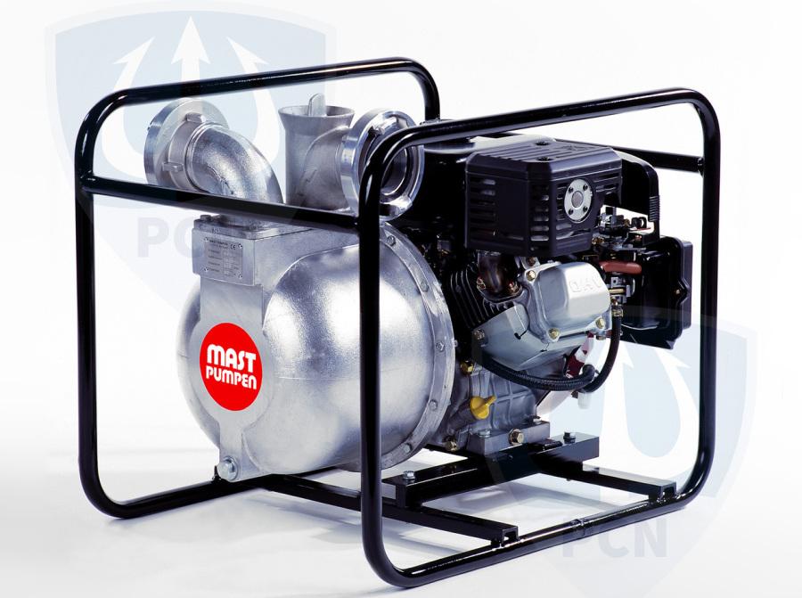 Mast Allzweckpumpe NP 8 B, 4-Takt-Benzinmotor 4,8 kW, B-Saug- und Druckanschluss,Qmax. 850Liter/min.,