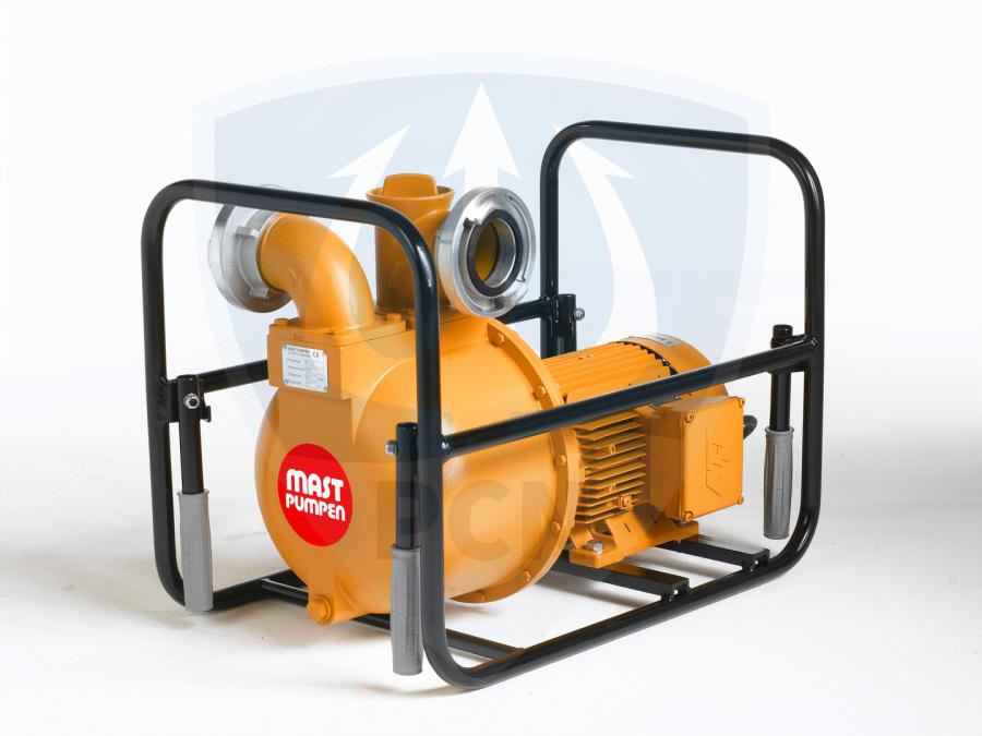 Mast Allzweckpumpe NP 8 E, Drehstrommotor 2,5 kW, 400V, B-Saug- und Druckanschluss,Qmax. 820Liter/min.,
