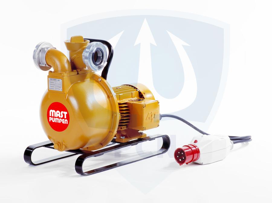 Mast Allzweckpumpe NP 4 E, Drehstrommotor 1,5 kW, 400V, C-Saug- und Druckanschluss, Qmax. 400Liter/min.,