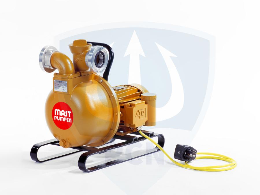 Mast Allzweckpumpe NP 4 L, Wechselstrommotor 0,75 kW, 230V, C-Saug- und Druckanschluss,Qmax. 320Liter/min.,