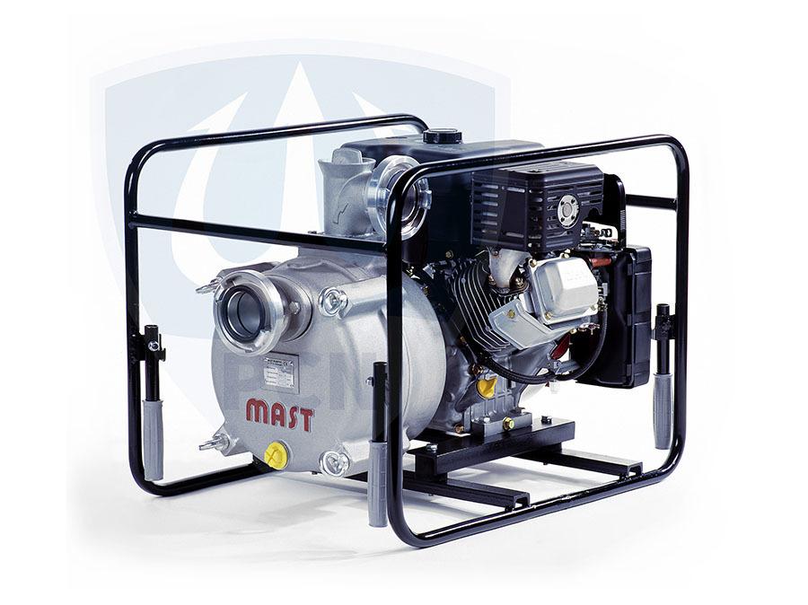 Mast Allzweckpumpe NP 12 B, 4-Takt-Benzinmotor 7,5 kW, B-Saug- und Druckanschluss,Qmax. 1200Liter/min.