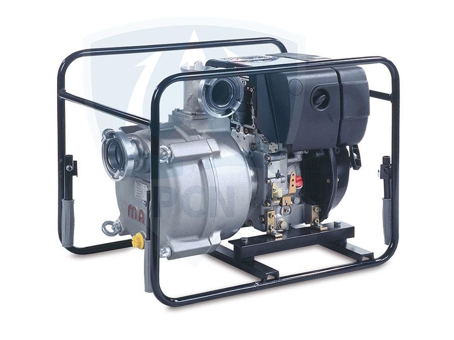 Mast Allzweckpumpe NP 12 D, 4-Takt-Dieselmotor 5,0 kW, B-Saug- und Druckanschluss,Qmax. 1200Liter/min.