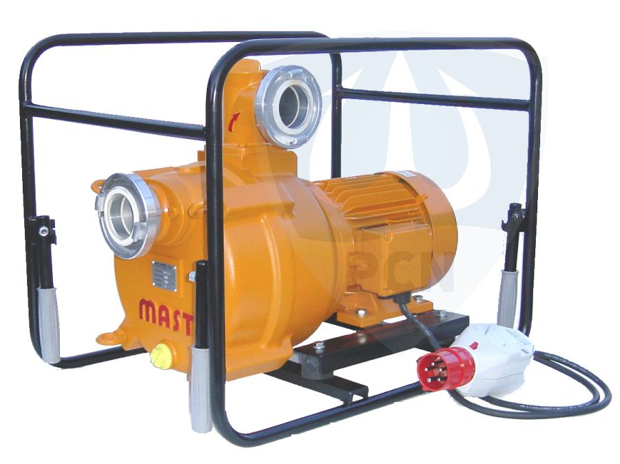 Mast Allzweckpumpe NP 12 E, Drehstrommotor 4 kW, 400V, B-Saug- und Druckanschluss,Qmax. 1200Liter/min.