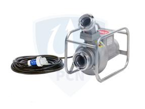 Mast Abwassertauchpumpe ATP15RL 230V als Rohrrahmenausfuehrung mit 45 Grad Druckausgang und 20 Meter Anschlussleitungd