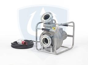 Mast Abwassertauchpumpe ATP20R mit einer Foerderleistung von bis zu 2500 litern pro Minute als Rohrrahmenausfuehrung