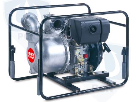 Mast Allzweckpumpe NP 8D, 4-Takt-Dieselmotor 3,4 kW, B-Saug- und Druckanschluss,Qmax. 850Liter/min.,