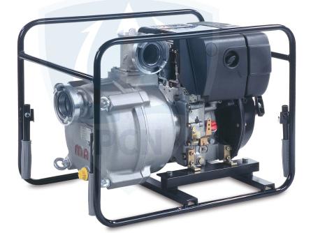 Mast Motorpumpe NP 12 D mit Hatz Dieselmotor, 5,0 kW, 1200 liter7min., Gewicht 72 Kg,