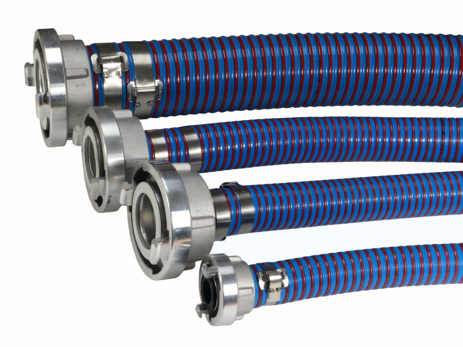 """Spiralschlauch 102mm , 4"""" Biegeradius 400mm"""