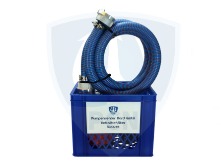 Pumpencenter Nord- Notfallbehälter Wasser 250Liter/min. Komplettpaket