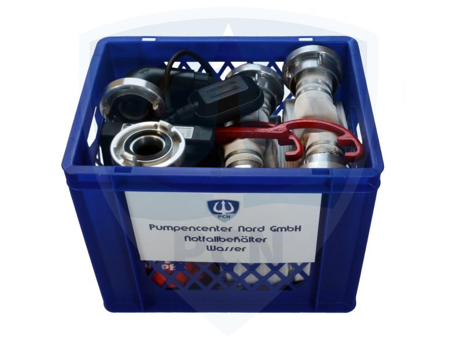 Notfallbehälter Premium 330Liter/min.  mit Schwimmer