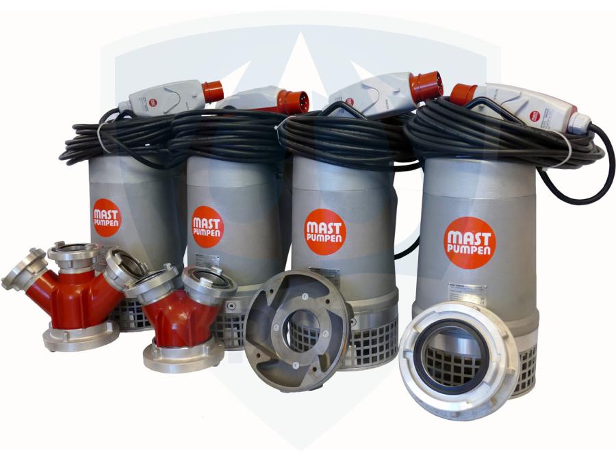 Ersatzteile und Reparatursätze Mast Tauchpumpen Übersicht