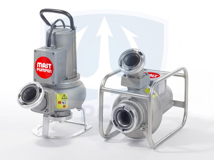 Reparatursaetze und Ersatzteile Mast Abwassertauchpumpe ATP 15L-R Uebersicht