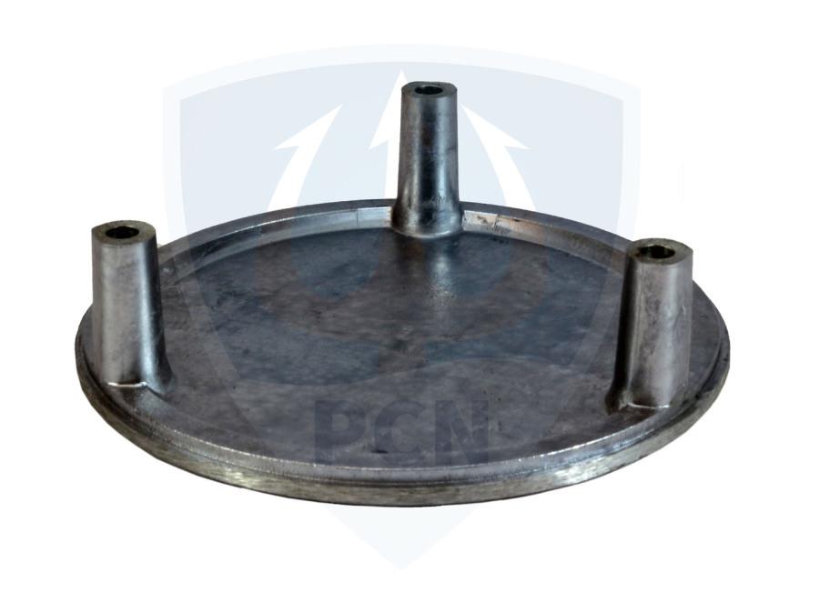 Mast Feuerwehrtauchpumpe TP4-1 DIN 14425  Bodenplatte