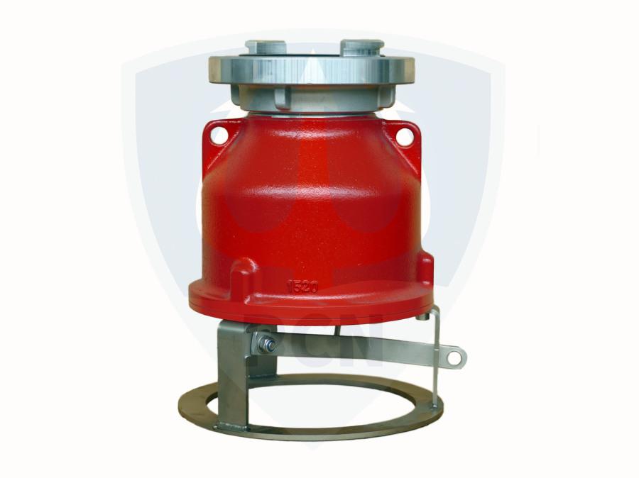 Saugkorb Mast ATP 20 mit Rückschlagklappe- Storz A- 80mm Durchgang