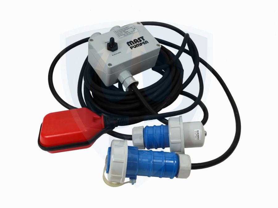 Niveauschaltung Mast Pumpen 230V- für Innen und Aussenbereich