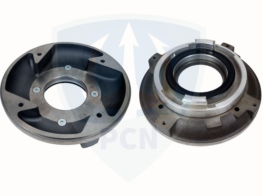 Mast Pumpen Tandemplatte T20 und TP15-1
