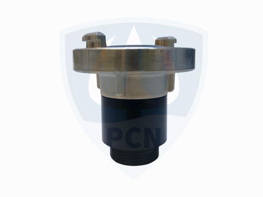 Anschlußstutzen mit Storz C Kupplung für Mast Kellerentwässerungspumpe K3